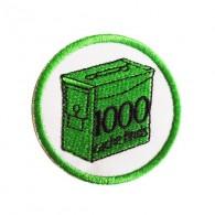 Geo Score Patch - 1000 Finds