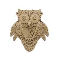"""Geocoin """"Steampunk"""" - Owl"""