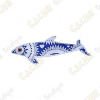 """Geocoin Dolphin """"Angels of the Sea"""" - Blue - Limited Edition"""