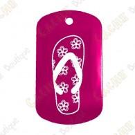 """""""Flip Flop"""" Traveler - Pink"""
