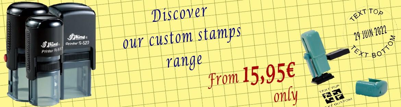 Custom Geocaching stamps