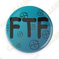 FTF button - Blue
