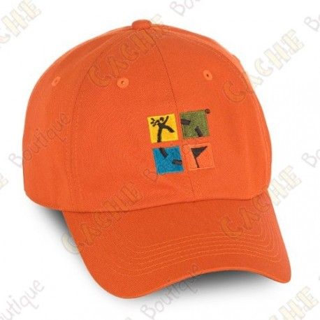 Groundspeak cap with logo - Orange