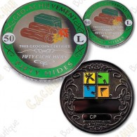 Geo Achievement® 50 Hides - Coin + Pin's