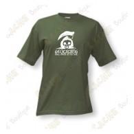 """T-Shirt """"Until Death Do Us Part"""" Homens - Caqui"""