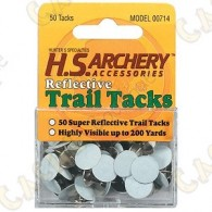 Reflecting trail markers - 50 white