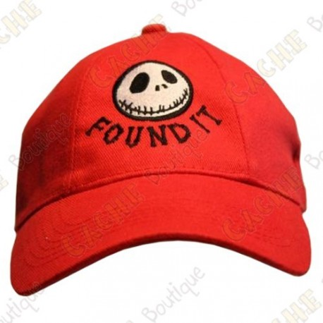 "Gorra ""Found it"" - Rojo"