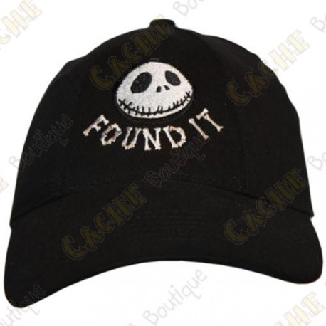"Gorra ""Found it"" - Negro"