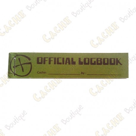 """Little Making """"Official Logbook"""" for PET"""