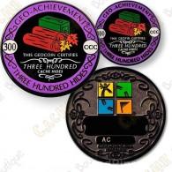 Geo Achievement® 300 Hides - Coin + Pin's