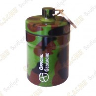 "Micro cache ""Official Geocache"" 8 cm - Camuflagem"