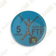 Geo Score Badge - 5 FTF
