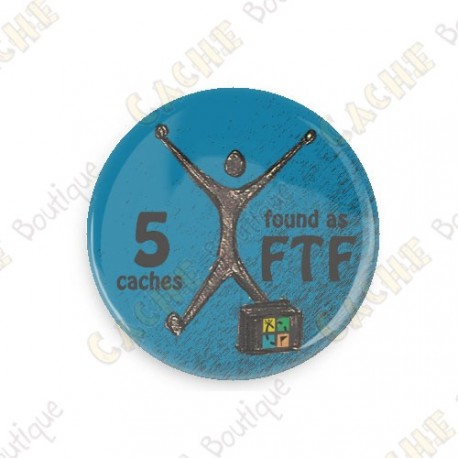 Geo Achievement Badge - 5 FTF