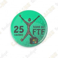 Geo Score Badge - 25 FTF