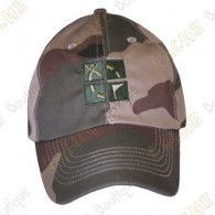 Groundspeak cap with logo - Green camo