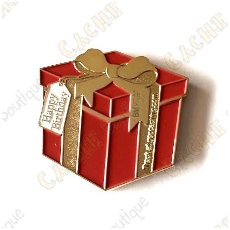 "Geocoin Gift ""Happy Birthday"""