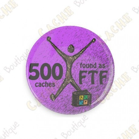 Geo Achievement Badge - 500 FTF