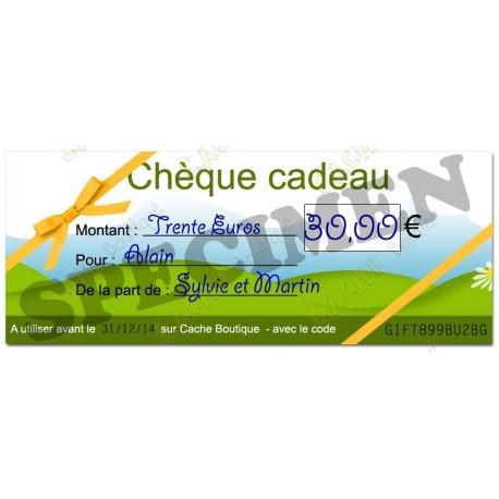 Tarjeta Regalo - 30€