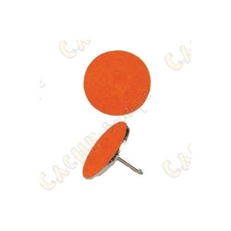 Marcadores reflectivos - 50 cor de laranja