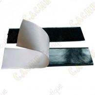 Adhesive velcro 10 cm - Black