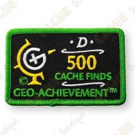Geo Achievement® 500 Finds - Patch