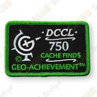 Geo Achievement® 750 Finds - Parche