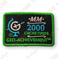 Geo Achievement® 2000 Finds - Patch
