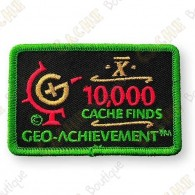 Geo Achievement® 10 000 Finds - Parche
