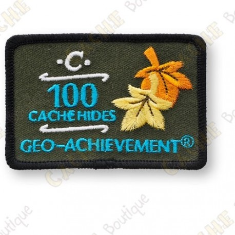 Geo Achievement® 100 Hides - Patch