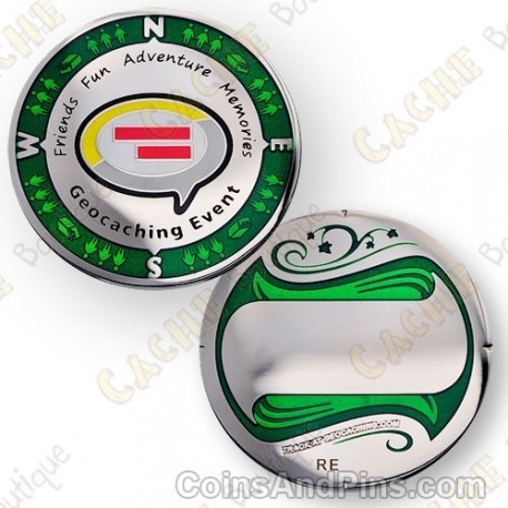 "Geocoin ""Regular Event"""
