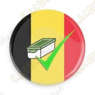 Geo Score Badge - Belgique