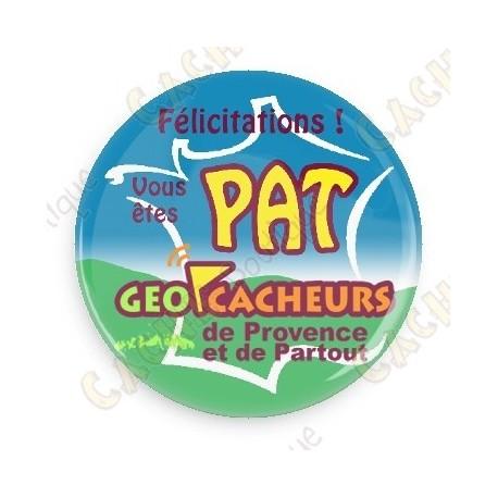 Geocacheurs de Provence button - PAT