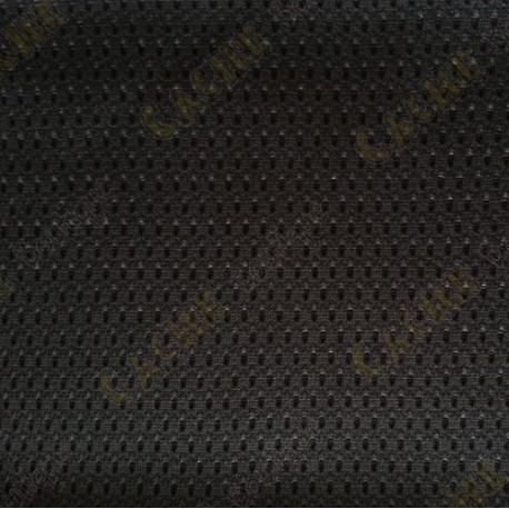 Micro-perforated fabric - Black