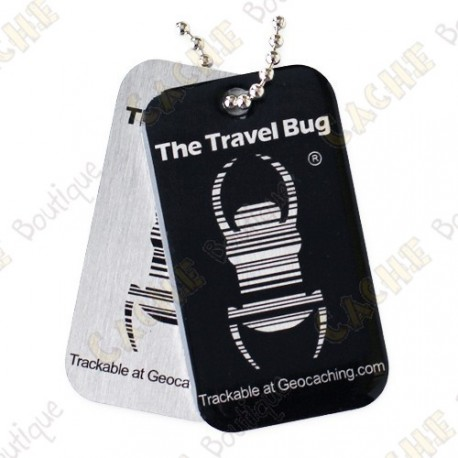 QR Travel bug - Black