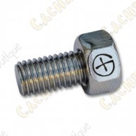 "Magnetic bolt  ""Geo"" - Silver"