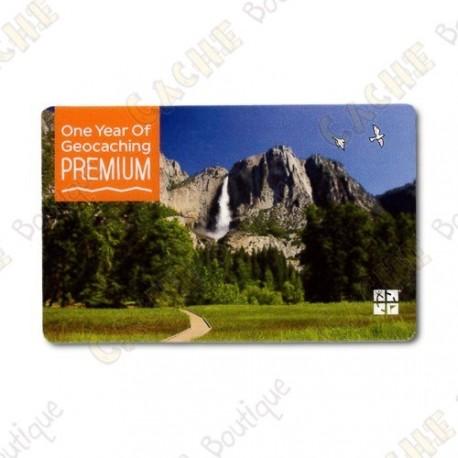 Geocaching.com PREMIUM membership gift card - 1 año