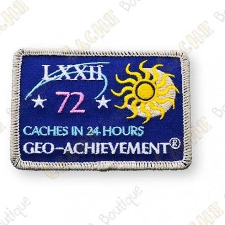 Geo Achievement® 24 Hours 72 Caches - Parche
