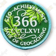 Geo Achievement® 366 Days - Parche