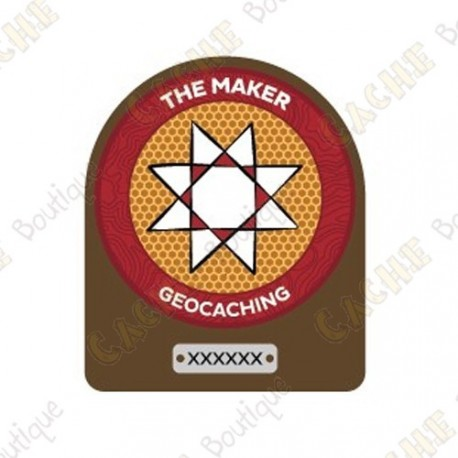 "Parche trackable ""Maker Madness"""
