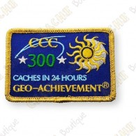 Geo Achievement® 24 Hours 300 Caches - Patch