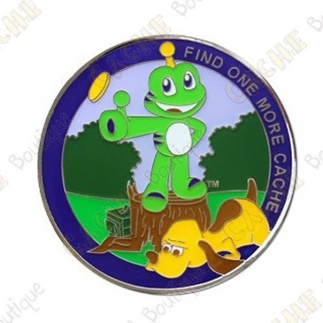 "Geocoin ""Heads or Tails"""