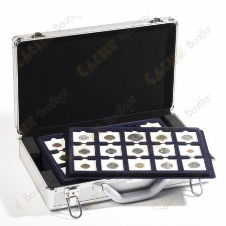 Maletín para geocoins Cargo L6 con bandejas