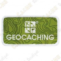 Patch geocaching com logotipo Groundspeak.