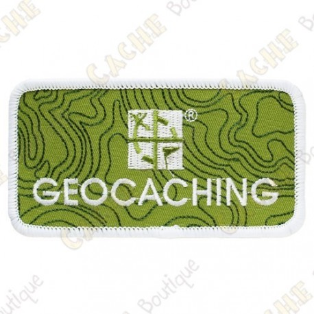Patch Geocaching Groundspeak - Verde