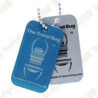 QR Travel bug - Blue