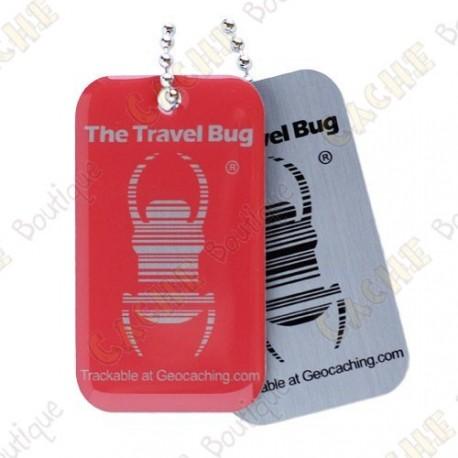 Travel bug QR - Rojo