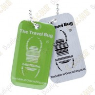 Travel bug QR - Verde