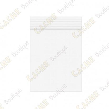 Bolsa Zip x10 - 7 x 10 cm