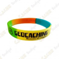 Pulsera de silicona Geocaching niños - Color
