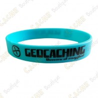 Pulsera de silicona Geocaching - Azul